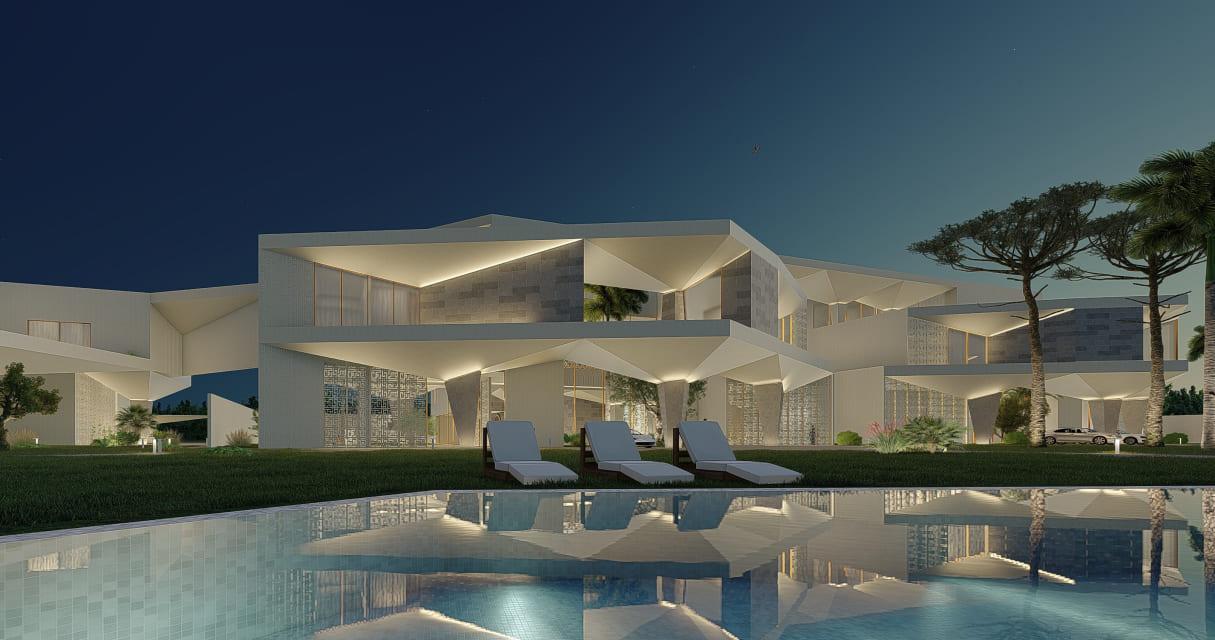 Architecture Exterior Form Design